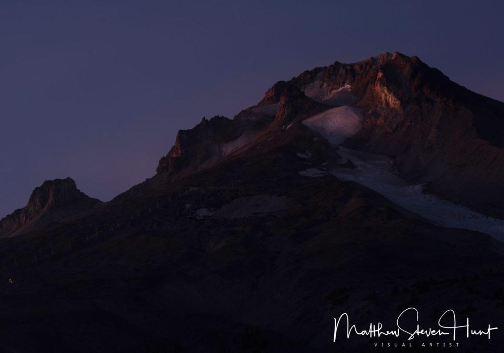 Mount Hood at Dusk